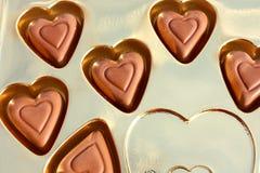 Innere der Schokolade Lizenzfreie Stockbilder