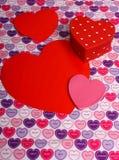 Innere für Ihren Valentinsgruß Lizenzfreies Stockbild