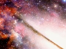 Innere Galaxie lizenzfreie abbildung