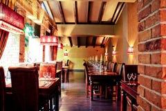 Innere Gaststätte Stockfoto