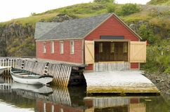 Innere Hafen Dreiheits-Bucht Neufundland lizenzfreie stockfotografie