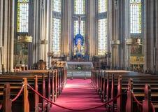 Innere Heilig-Antoine-Kirche in Taksim, Istanbul Lizenzfreie Stockfotografie
