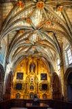 Innere Kathedrale von Cuenca, Spanien Stockbild