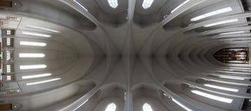 Innere Kirche Stockfotos