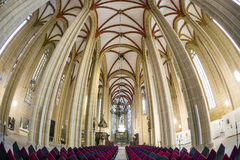 Innere Kirche St. Marys Lizenzfreie Stockbilder