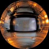 Innere Mikrowelle Stockfoto