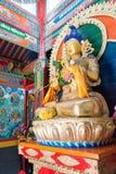INNERE MONGOLEI, CHINA - 13. August 2015: Budda-Statue bei Pagode fünf Lizenzfreies Stockfoto