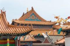 INNERE MONGOLEI, CHINA - 13. August 2015: Dazhao-Lamasery ein berühmtes h Stockbilder