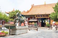 INNERE MONGOLEI, CHINA - 13. August 2015: Dazhao-Lamasery ein berühmtes h Lizenzfreie Stockfotos