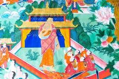 INNERE MONGOLEI, CHINA - 13. August 2015: Entlastung bei fünf Pagode Templ Stockfotos