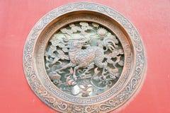 INNERE MONGOLEI, CHINA - 13. August 2015: Entlastung an Guanyin-Tempel A Lizenzfreies Stockbild