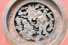 INNERE MONGOLEI, CHINA - 13. August 2015: Entlastung an Guanyin-Tempel A Lizenzfreie Stockfotos