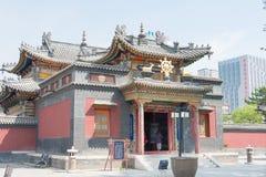 INNERE MONGOLEI, CHINA - 13. August 2015: Fünf Pagoden-Tempel (Wutasi) Stockfotografie