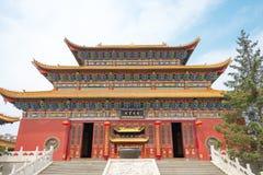 INNERE MONGOLEI, CHINA - 13. August 2015: Guanyin-Tempel ein berühmtes hallo Stockbilder
