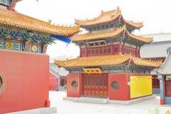 INNERE MONGOLEI, CHINA - 13. August 2015: Guanyin-Tempel ein berühmtes hallo Lizenzfreies Stockfoto