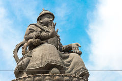 INNERE MONGOLEI, CHINA - 13. August 2015: Statue von Altan Khan (Alata Stockbilder