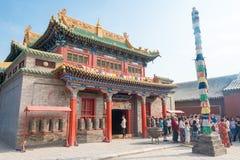 INNERE MONGOLEI, CHINA - 13. August 2015: Xilitu Zhao Temple (Shiretu Lizenzfreie Stockfotografie