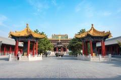 INNERE MONGOLEI, CHINA - 13. August 2015: Xilitu Zhao Temple (Shiretu Lizenzfreie Stockfotos