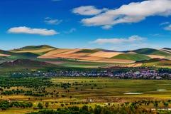 Innere- Mongoleilandschaft Stockbild