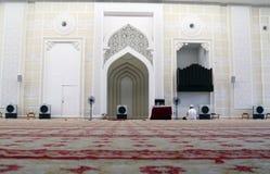 Innere Moschee Lizenzfreie Stockbilder