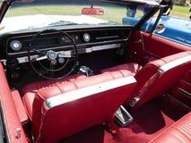 Innere rote konvertierbare Chevrlet-Impala SS in Lima Lizenzfreies Stockbild