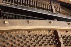 Inneres Klavier Stockfoto