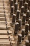 Inneres Klavier Stockbild
