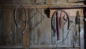 Innere Wand der Ranch lizenzfreie stockbilder