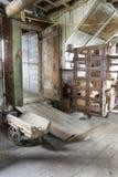 Innere Weinlesefabrik Stockfotografie