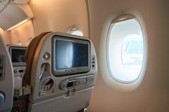 Innerer Airbus A380 Stockfoto