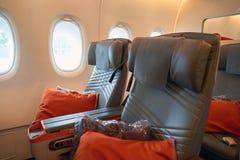 Innerer Airbus A380 Lizenzfreies Stockfoto