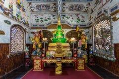 Innerer buddhistischer Tempel in Vietnam Lizenzfreies Stockbild