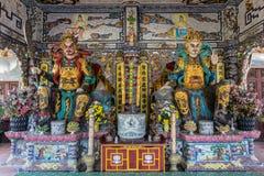 Innerer buddhistischer Tempel in Vietnam Lizenzfreie Stockfotos