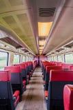 Innerer Eingang NS-Zugs zur Schienenfahrzeugersten klasse lizenzfreies stockbild