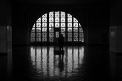 Innerer Ellis Island Stockbild