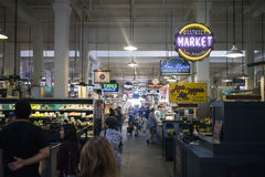 Innerer Grand Central -Markt Los Angeles Kalifornien Stockfotografie