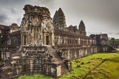 Innerer Hof bei Angkor Wat Lizenzfreie Stockbilder