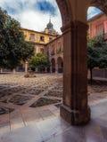 Innerer Hof des Krankenhauses San Juan De Dios 12 lizenzfreies stockbild