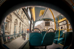Innerer London-Bus Lizenzfreie Stockfotografie