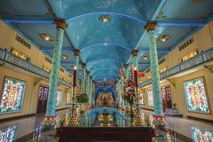 Innerer Tempel cao Dai Stockbilder