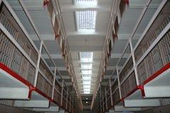 Inneres Alcatraz Gefängnis Stockfotos