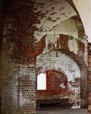 Inneres altes Fort Lizenzfreies Stockbild