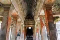 Inneres Angkor Wat Lizenzfreies Stockbild