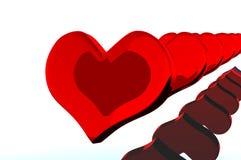 Inneres auf Valentinstag lizenzfreies stockbild