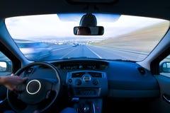 Inneres bewegliches Fahrzeug Lizenzfreie Stockbilder