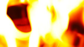 Inneres brennendes Feuer des Ringes stock footage