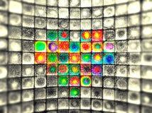 Inneres des Glases Stockfotografie