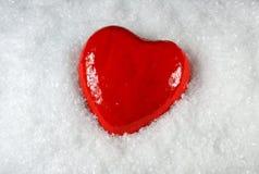 Inneres des Schnees. Lizenzfreie Stockfotos