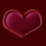 Inneres des Valentinsgrußes Stockbilder