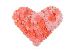 Inneres des Valentinsgrußes Stockfoto